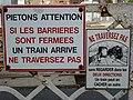 Lucquy (Ardennes) gare d'Amagne-Lucquy panneau 02.JPG