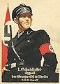 Ludwig HOHLWEIN 1. Schutzstaffel-Appell der Gruppe Ost in Berlin 11.,12.,12. August NSDAP propaganda SS-Mann Uniform Hakenkreuz Fahne Plakat Recruitment poster Nazi Party No known copyright restrictions h40-1.jpg