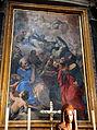 Luigi garzi, maria intercede per santa caterina e gloria di tutti i santi, 1695 circa, 01.JPG