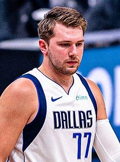 Luka Dončić Slovenian basketball player
