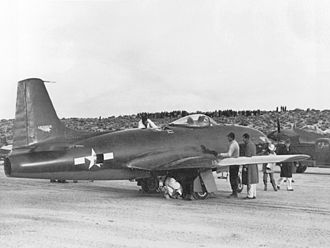 Lockheed P-80 Shooting Star - The original XP-80 prototype Lulu-Belle