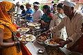 Lunch Distribution - Rawatpura Sarkar Ashram - Chitrakoot - Satna 2014-07-05 6420.JPG