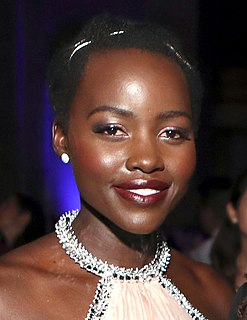 Lupita Nyongo Mexican-Kenyan actress and film director