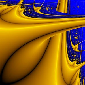 Lyapunov fractal - Image: Lyapunov fractal AB