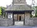 Lych Gate, The Parish Church of Immanuel, Oswaldtwistle - geograph.org.uk - 1408126.jpg