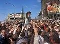 Lyndon B. Johnson waving to crowd (cropped).tif