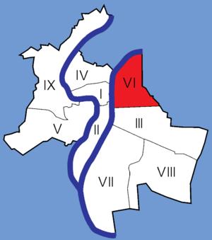 6th arrondissement of Lyon - Image: Lyon Arrondissements 06