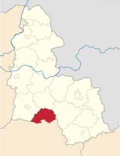 Lypova Dolyna Raion Former subdivision of Sumy Oblast, Ukraine