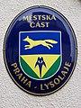 Lysolaje, Kovárenská 5, znak městské části.jpg