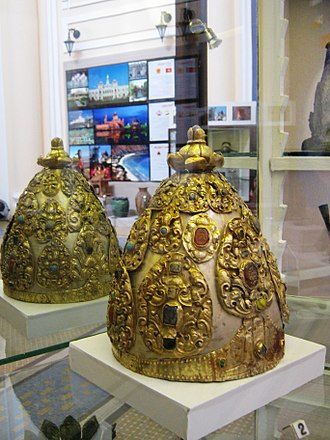 Champa - Crown of Champa in 7th and 8th century