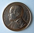 Médaille cuivre Olivier de SERRES, société libre d'agriculture de l'Eure, section des Andelys. Graveur Honoré DELONGUEIL. Diam. 42 mm (1).JPG