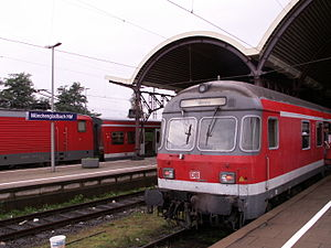 Maas-Wupper-Express - RE 13 in Mönchengladbach