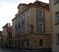 Měšťanský dům (Malá Strana), Praha 1, U lužického semináře 13, Malá Strana.JPG