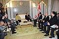 M. Abdessalem reçoit le Sénateur démocrate américain Daniel Inouye (6649870721).jpg