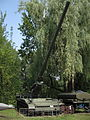 M107 self-propelled gun at the Muzeum Polskiej Techniki Wojskowej.jpg