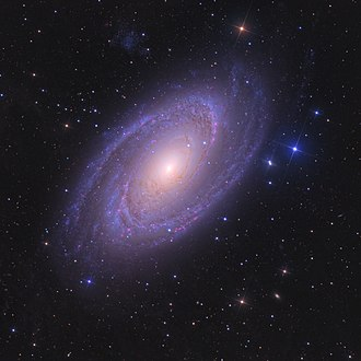 Astronomy Picture of the Day - Image: M81 APOD flipped version