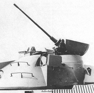 MBT-70 - The 20 mm autocannon deployed