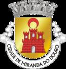 Brasão de Miranda do Douro (português)Miranda de l Douro (mirandês)