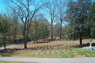 Myrtle Hill Cemetery - Confederate Cemetery.