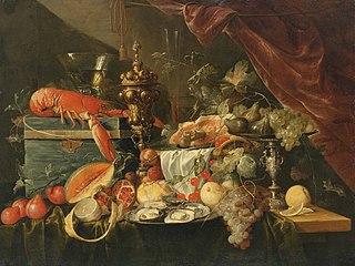 Sumptuous Still Life (c. 1650)