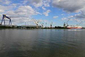 MS Viking Grace, Pernon telakka, Hahdenniemen venesatama, Raisio, 11.8.2012 (15).JPG