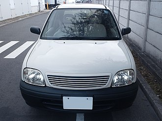 Muji - Muji Car 1000, the product of a 2001 collaboration with Nissan