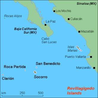 Roca Partida - Revillagigedo Islands.