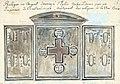 Maastricht, schatkamer OLV-kerk, Byzantijns reliekentriptiekje (Ph v Gulpen, ca 1835).jpg