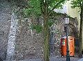 Maastricht - rijksmonument 27994 - resten stadsmuur Achter de Molens 20110505.jpg