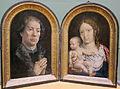 Mabuse, dittico di jean carondelet, 1517, 01.JPG