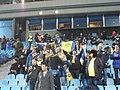 Maccabi Tel-Aviv supporters in Kiev.JPG