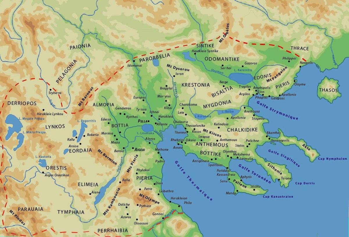 mapa stare grcke Pelagonija   Wikipedia mapa stare grcke