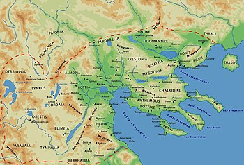 350px Macedonian Kingdom Relations between Upper and Lower Macedonia