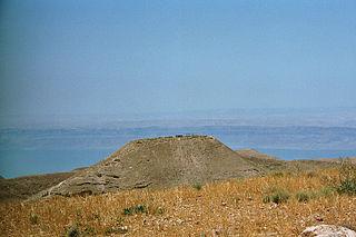 Machaerus Hilltop palace in Jordan