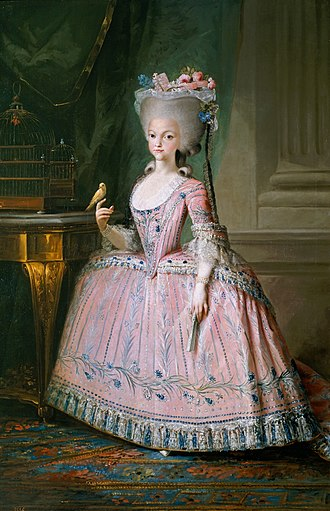 1786 in Spain - Carlota Joaquina de Boubon