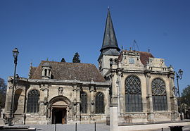 The church of Our Lady of the Nativity, in Magny-en-Vexin