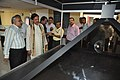 Mahesh Sharma Watching Hologram - NDL - NCSM - Kolkata 2017-07-11 3505.JPG