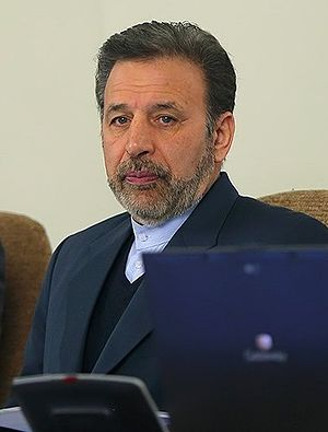 Mahmoud Vaezi - Image: Mahmoud Vaezi in cabinet meeting