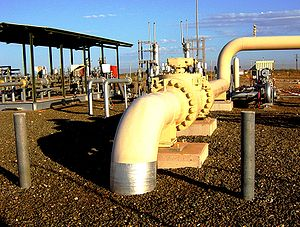 Energy in Australia - Natural-gas pipeline in Western Australia, 2004