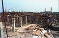 Main Auditorium Under Construction - Convention Centre Complex - Science City - Calcutta 1994-09-26 444.JPG