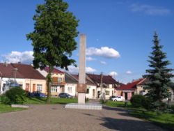 Main Square in Glogow Malopolski.jpg
