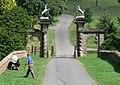 Main entrance to Staunton Harold Hall - geograph.org.uk - 915433.jpg