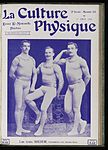 Male gymnasts, 'The Three Roeder', c. 1906 Wellcome L0039142.jpg