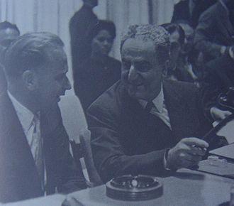 Charles Malik - Charles Malik and Dag Hammarskjöld, 1958