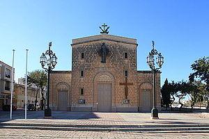 Burmarrad - Burmarrad Parish Church and square