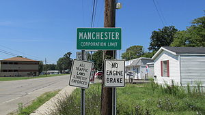 Manchester, Ohio - Image: Manchester OH1