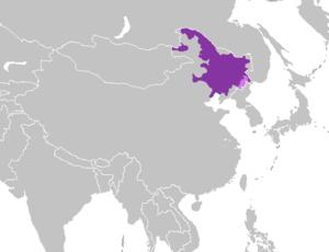 Northeastern Mandarin - Image: Mandarín noreste