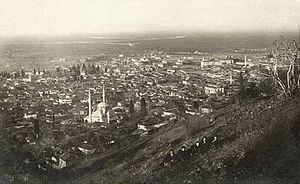 Fire of Manisa - Image: Manisa view old picture