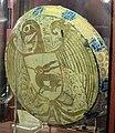 Manises, piatto con scudo di castiglia-léon, 1450-75 ca., retro.JPG
