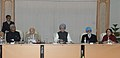 Manmohan Singh meeting the top Executives of Power Sector Companies, in New Delhi. The Deputy Chairman, Planning Commission, Shri Montek Singh Ahluwalia, the Union Power Minister, Shri Sushil Kumar Shinde.jpg